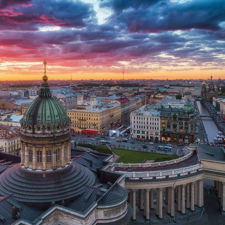 Казанский кафедральный собор.    Автор фото: Иван Смелов (Smelov.photo).