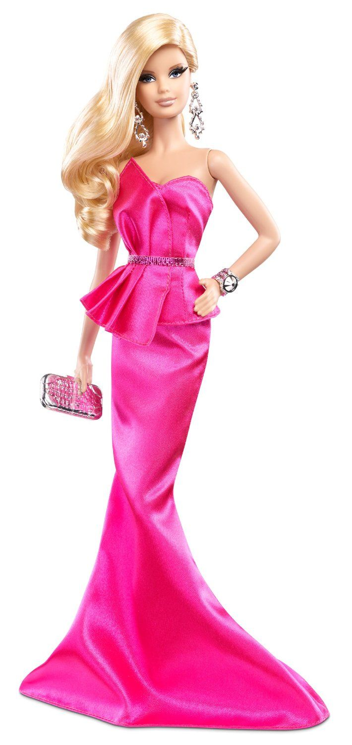 Barbie 2014 Look Collection Pink Gown: Amazon.es: Juguetes y juegos