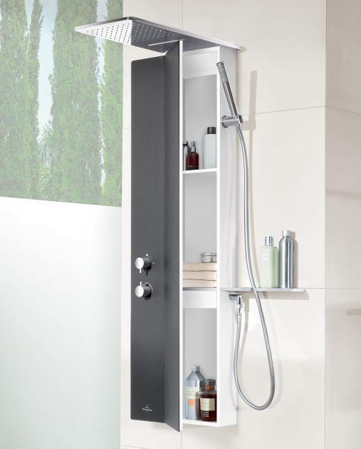 Wellness Fur Die Dusche Duschpaneel Vivia Von Villeroy Boch