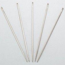 Иглы для кожи - набор из 5 игл с затупленными кончиками, для седельного шва.
