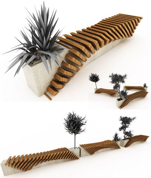 16 Innovative and Unusual Bench Designs – DesignSwan.com