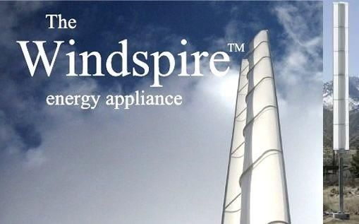 Prima turbina eoliana verticala construita de Windspire in anul 2007 a fost o turbina cu profil Savonius Benesh . Turbina eoliana se remarca prin raportul mare intre inaltime si diametru h/d=10 (h=6m, d=0.6m). Acest lucru permite turbinei sa atinga o turatie de 500 rot/min in ciuda unui TSR mic de ~1.3. Producatorul declara o putere de 1 kWla o viteza a vantului de 11 m/s .