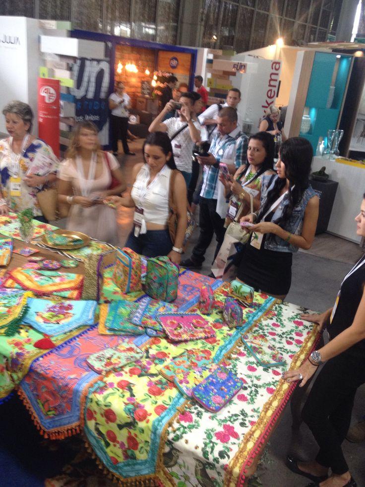 En Colombiamoda.. Con todos nuestros productos TalaRestrepo.