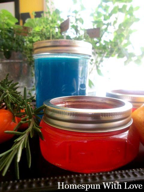Homemade Gel Home Air Fresheners