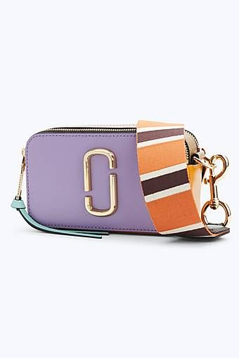 14e1157abeb1 Marc Jacobs Snapshot Small Camera Bag in Hyacinth