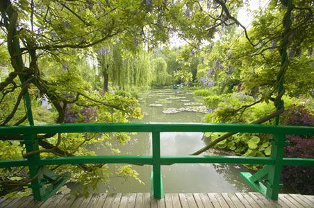 Monet Garden, 50 miles outside the city to Giverny, France. Insider Tip: The gardens are in bloom from April to October, but the best time to beat the crowds and see the famous water lilies in full flower are the summer months, from July to August.