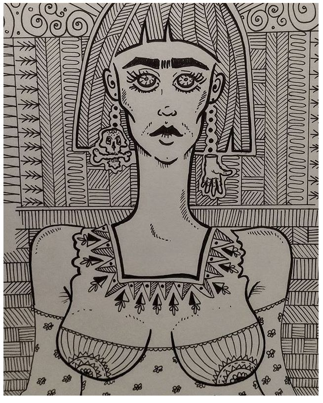 Frida Kahlo mi amor. Frida inspired me. #doodleart #fridakahlodoodle #doodlestyle #fridakahlomiamor #fridakahloinspiredme