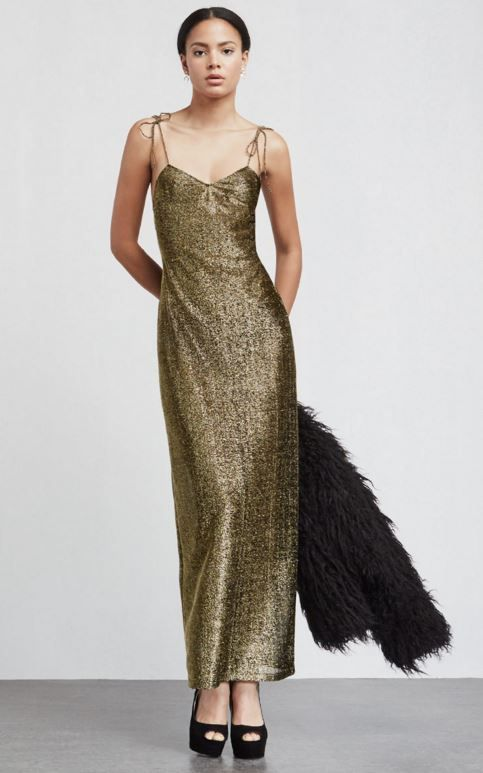10 Gold Dresses to Wear on New Year's Eve | StyleCaster