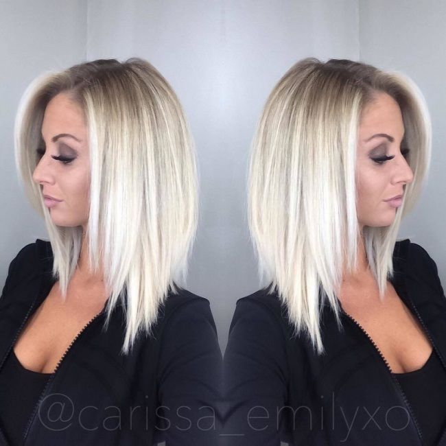 Coupe Au Carre Court 20 Modeles Pour Vous Blond Hairs