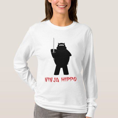 Ninja Hippo T-Shirt - click to get yours right now!
