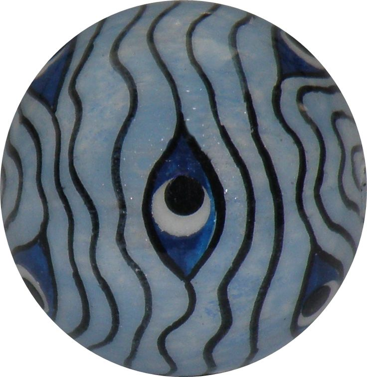 Blue Eyes... costume jewelry ball
