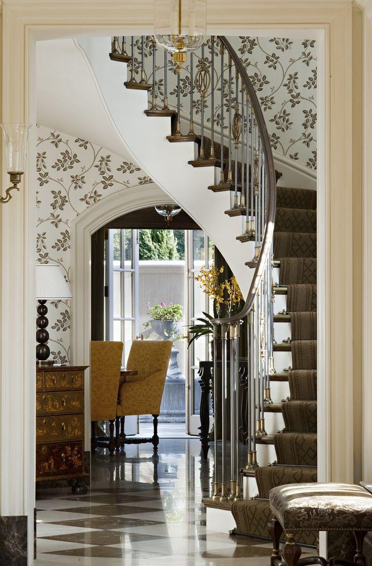 Hereve hal dan 2013 modern hal modelleri ev dekorasyon - Entry Hall From The Portfolio Of Suzanne Tucker Tucker And Marks