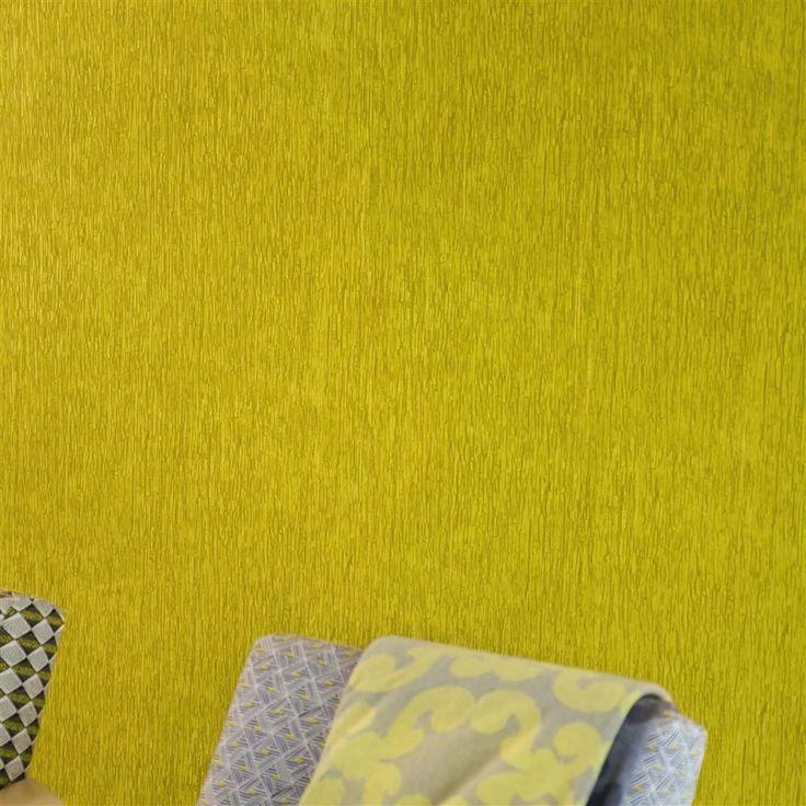Colourful Wallpaper. Casablanca Textured. Designers Guild. Wirz Tapeten AG