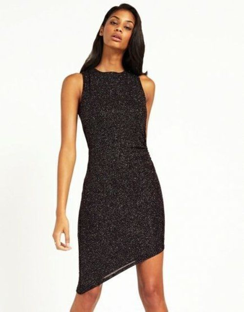 NEW LIPSY MULTI GLITTER ASYMMETRIC PARTY DRESS 6 to 16 RRP £50