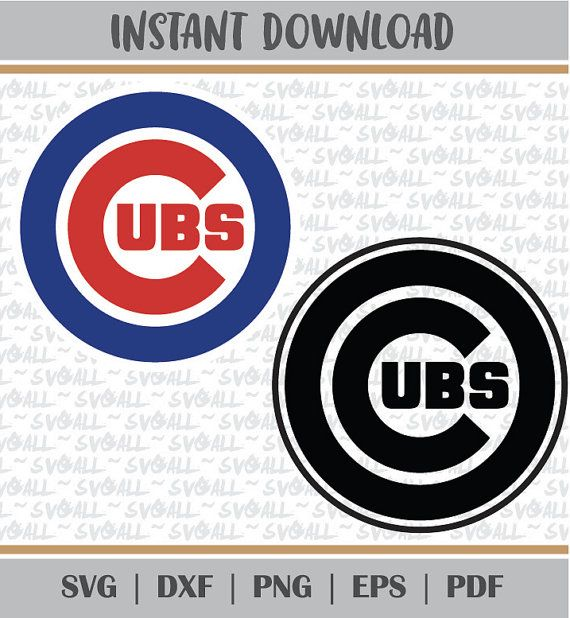 chicago cubs Svg Files chicago cubs Png chicago cubs PDF