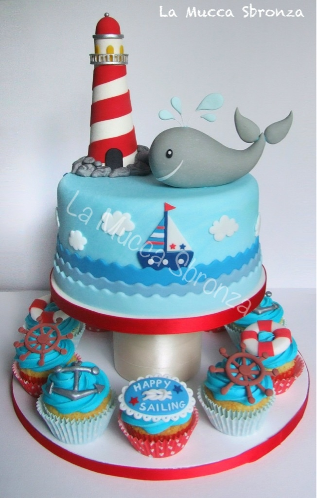 http://lamuccasbronza.blogspot.com cake la torta del balenottero