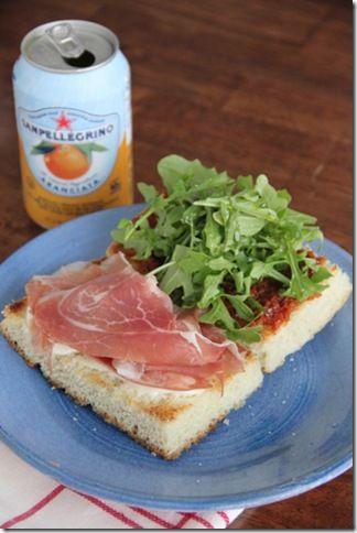 mozzarella fresh mozzarella sandwiches inspired prosciutto mozzarella ...