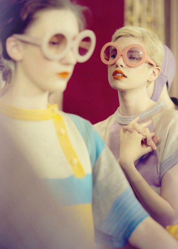 tsumori-chisato-backstage FW11 found on Trendland #pastel #fashion