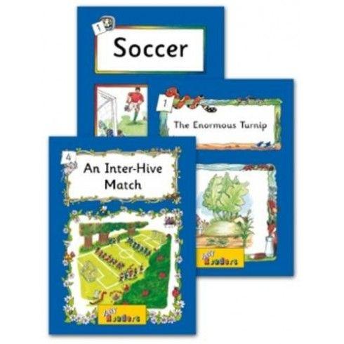 Un paquete con 6 títulos diferentes, incluyendo: Fútbol, Cordillera, Henry Ford, Tiburón, La Luna, El Nilo. Nivel 4  donde se introduce el r...