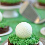 Golf Ball Truffles and Putting Green Brownies – #Ball #Brownies #Golf #Green #pu…