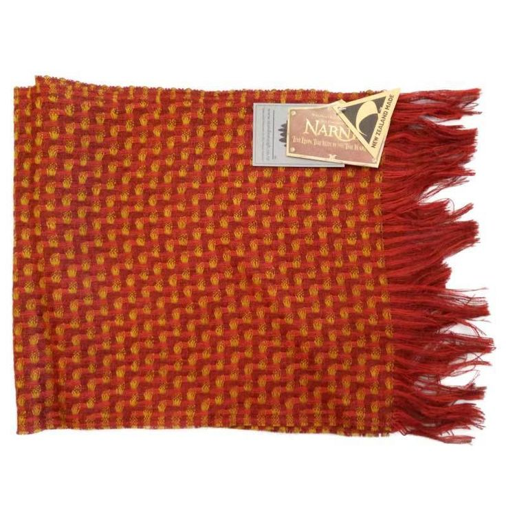 [Stansborough Licensed Narnia Lion the Witch and Wardrobe Centaur Scarf Red/Gold] Centaur or Tumnus? Latter seems likelier...