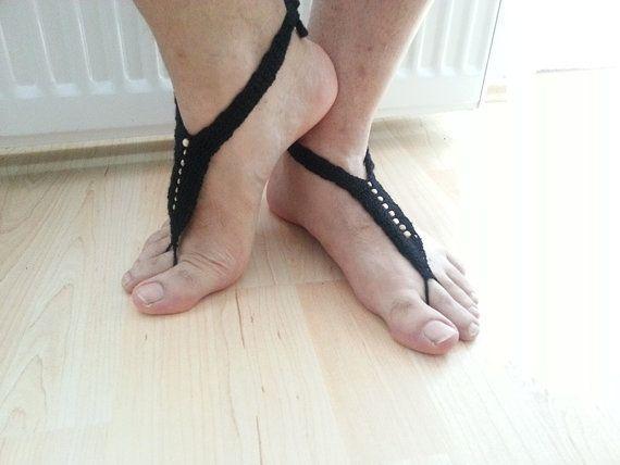 Gladiator  Sandals men    Barefoot Sandals for by ArtofAccessory, $20.00