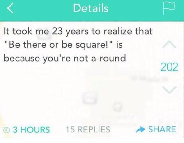 """This is the true meaning of that phrase: 