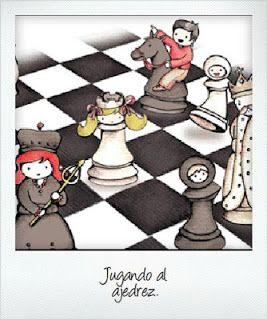 El ajedrez juego mediaval    http://mariposasdecoloresamalia.blogspot.com.es/2012/09/jaque-mate.html