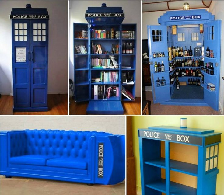 17 best ideas about tardis bookshelf on pinterest doctor who dr who and dr who seasons. Black Bedroom Furniture Sets. Home Design Ideas