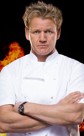 Judge away, he is cute for an older man, and bonus, he can cook and he has an accent. Lol...  Gordon Ramsey.