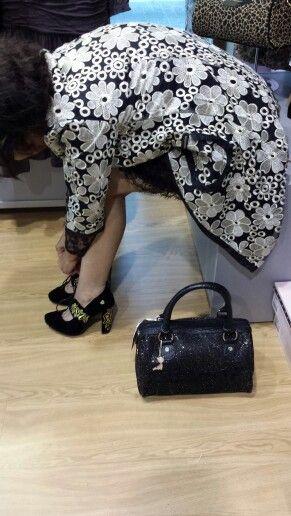 Precioso bolso y zapatos de Lollipops ambos disponibles en nuestra Boutique