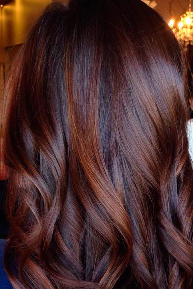 dark caramel hair ideas