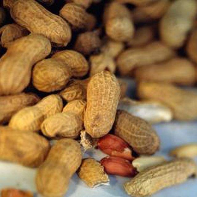 Roast peanuts in their shell for a healthy snack.