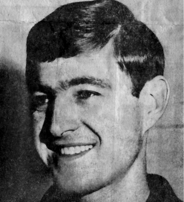 Newspaper Clipping - Wayne Richardson (Collingwood) 1969