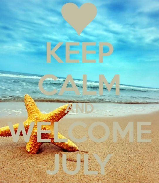 Bienvenido Julio! Estarás lleno de muchas experiencias nuevas, muchos cambios pero más que nada mucho amor de Dios hacia mi. ❤️