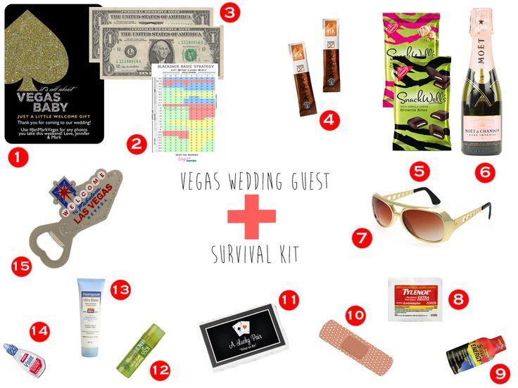 Vegas Wedding Survival Kit