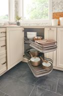 Pullout (The Cloud) Two-Tier Contemporary Organizer Blind Corner Accessories