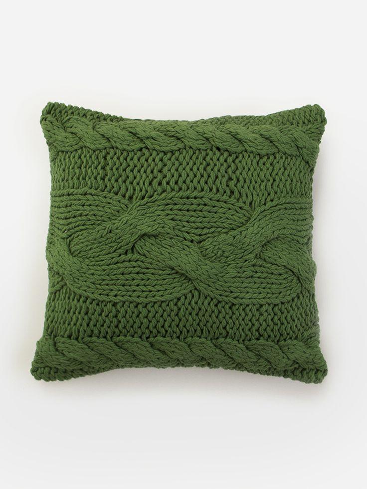 Almofada Crochet Milla Verde   Collector55 - Loja de Decoração Online - Collector55