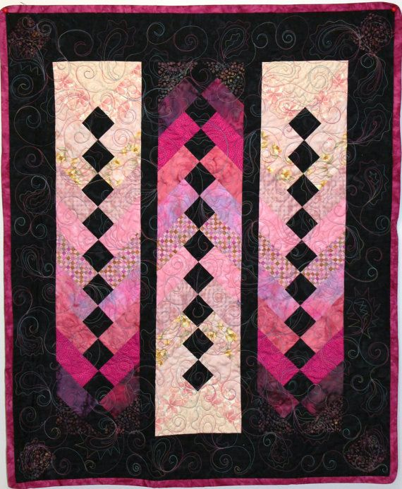17 Best Images About Quilts French Braid Chevron On