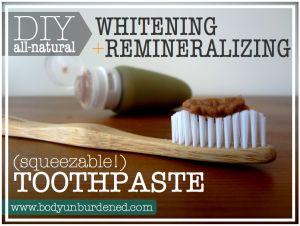 Hmmm, should I ? http://bodyunburdened.com/diy-natural-whitening-remineralizing-toothpaste/