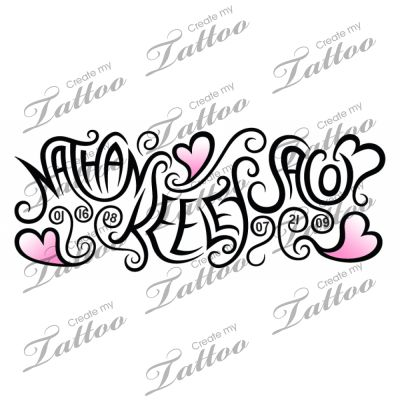 Love this!!  Wonder if it would work as a wrist tattoo?!