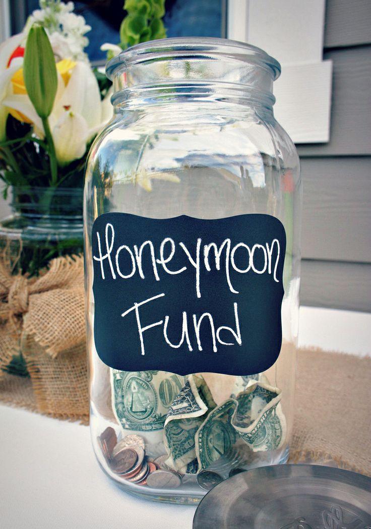 Best Honeymoon Jar Ideas On Pinterest Weddings On A Budget - 21 brilliant tip jars guaranteed to make some money
