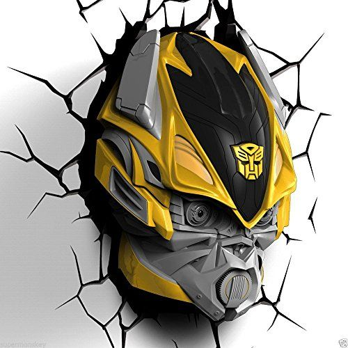 3D DECO FX TRANSFORMERS BUMBLE BEE BUMBLEBEE BEDROOM WALL NIGHT LED LIGHT LAMP 3D Lights http://www.amazon.co.uk/dp/B00PKJRCVG/ref=cm_sw_r_pi_dp_vXOTvb12YAM5E