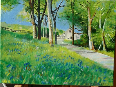 Stupendo paesaggio, dell'artista P.ALì  Soggetto dipinto a mano su tela dimensioni 30X40,  valore commerciale 100 euro in offerta esclusiva a prezzo scontato solo per gli utenti di ebay