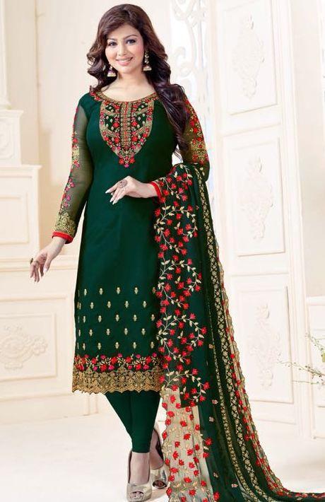 7cf24cc7fa Lavina Vol-32 Georgette Embroidery Suits ( 5 pc catalog ) | Designer ...