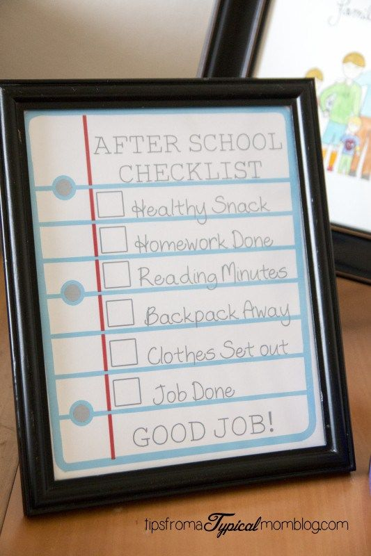 Does your home turn to chaos when the kids get home from school? Here are 5 tips to create an after school routine that your kids will love!