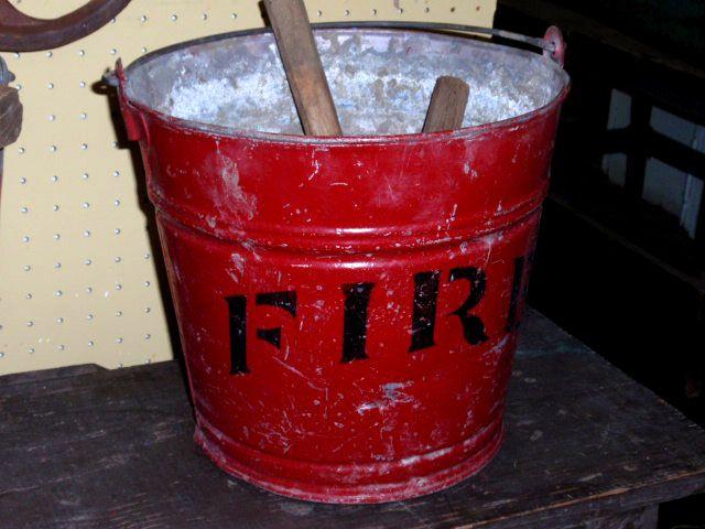 HUDSON GOODS BLOG   vintage antique metal buckets
