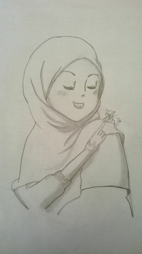 Hoojab pencil sketching