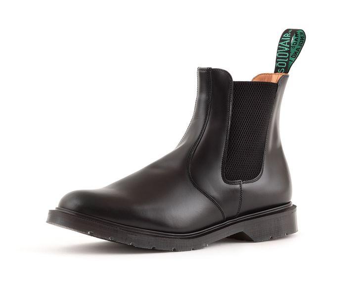 Solovair Dealer Boot in Black