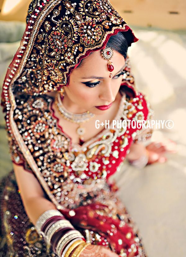 inspiration for small details -- royal blue border with hints of red with creme heavy embroidered lengha?